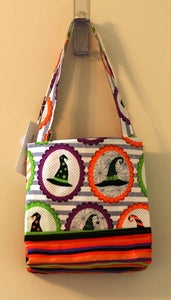 Halloween Trick or Treat Party Tote Bag 100% Cotton Hand Made in the U.S.A; NEW - Sheila Antell