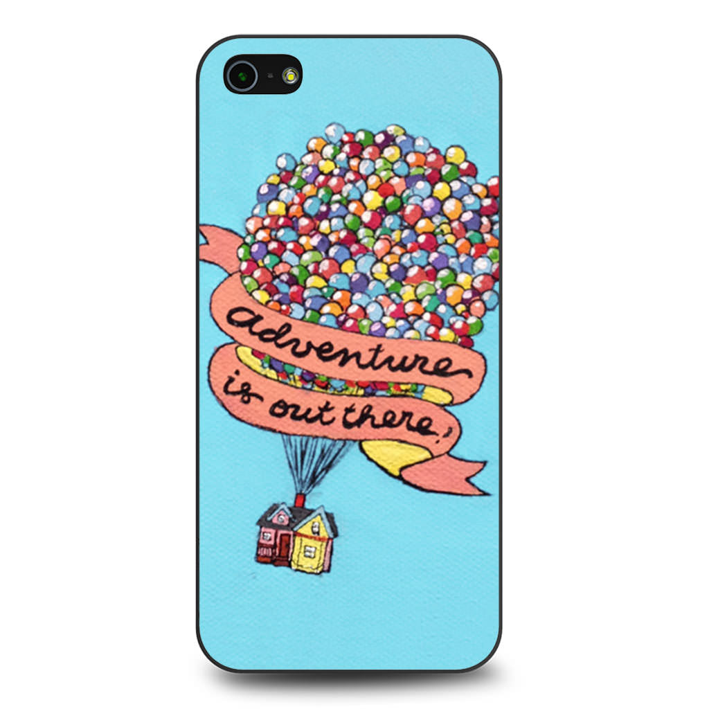 Adventure Is Out There Pixar Disney iPhone 5 5s SE case