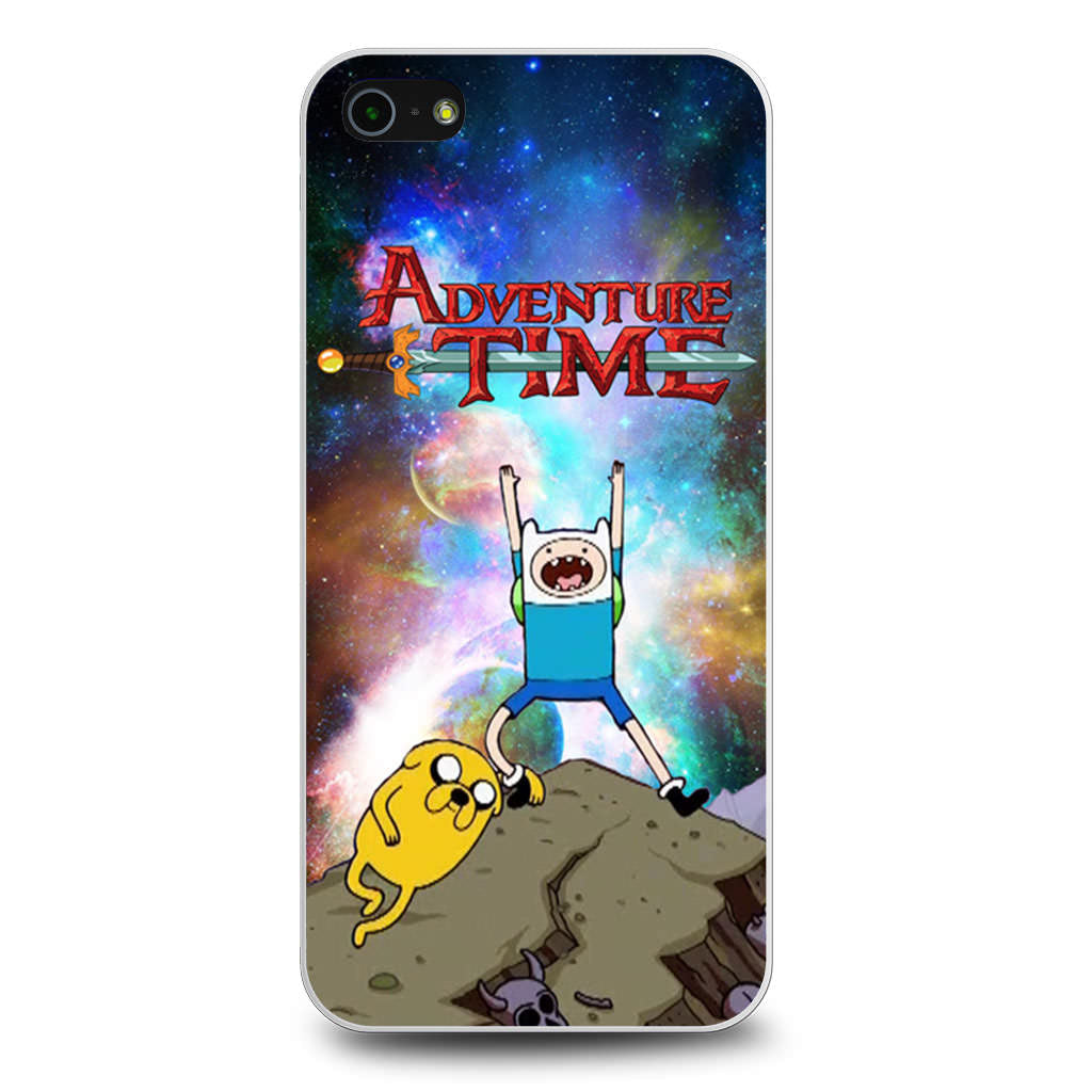 Adventure Time Finn and Jake Galaxy Nebula iPhone 5/5s/SE case