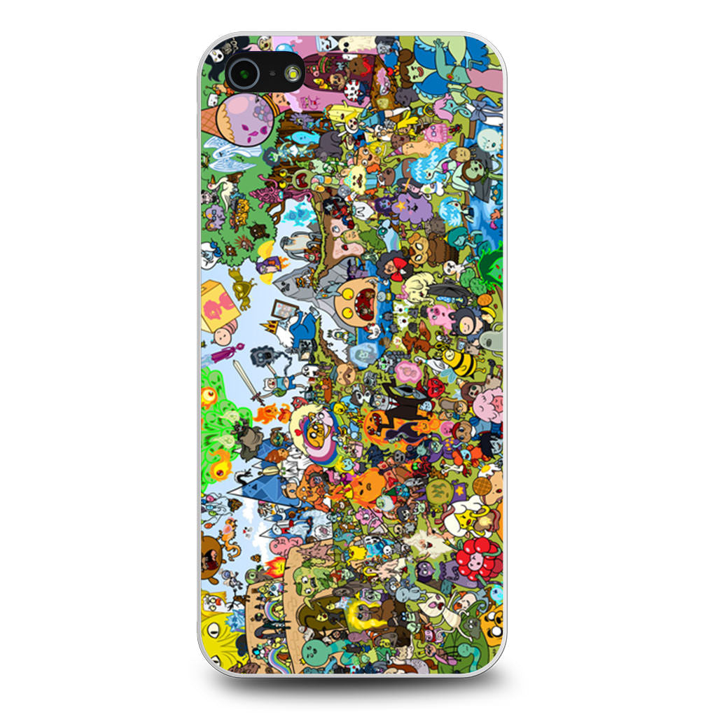 Adventure Time All Characters iPhone 5/5s/SE case