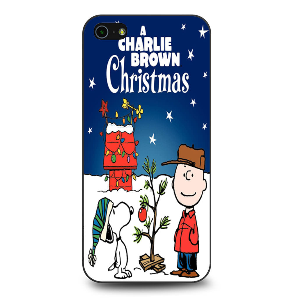 A Charlie Brown Christmas iPhone 5 5s SE case