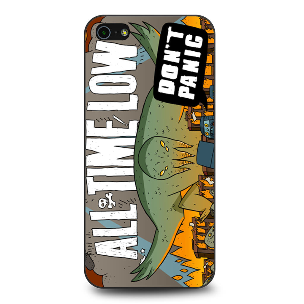 All Time Low iPhone 5 5s SE case