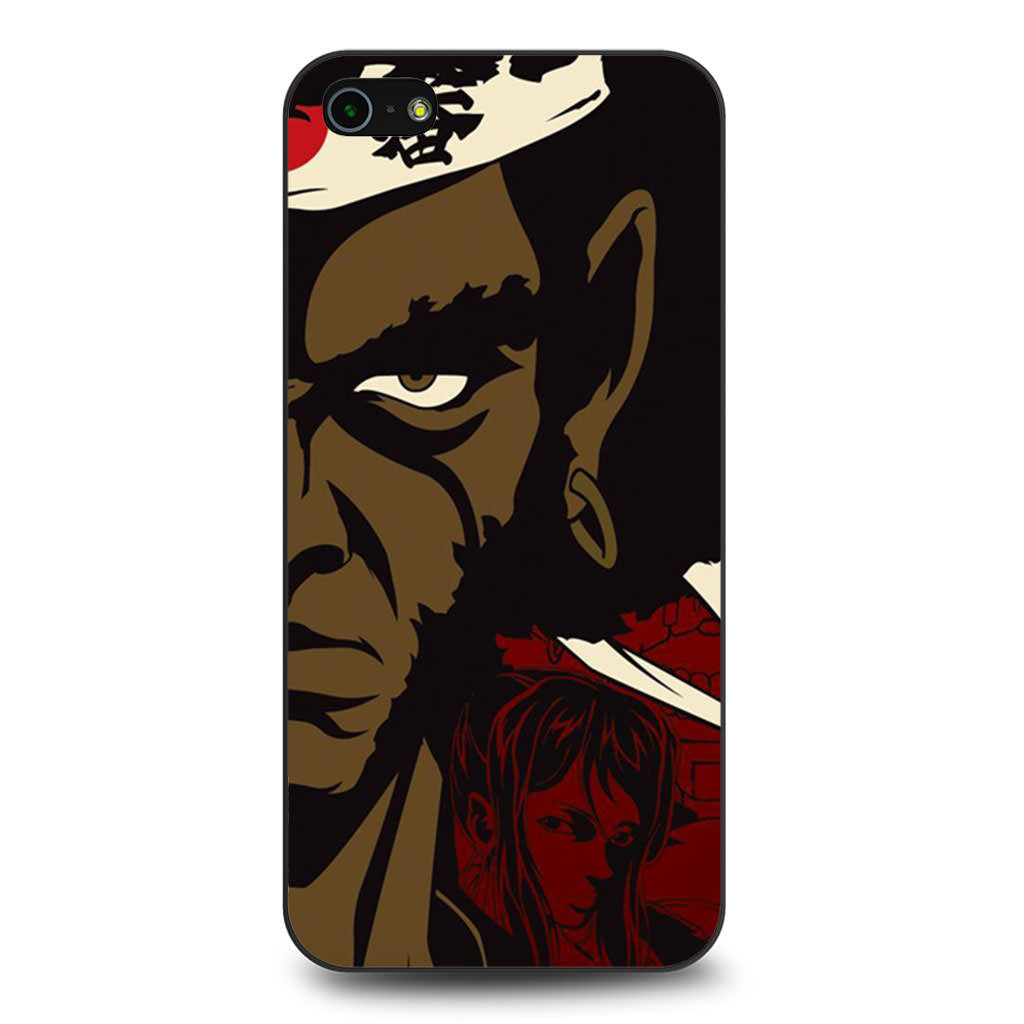 Afro Samurai iPhone 5 5s SE case