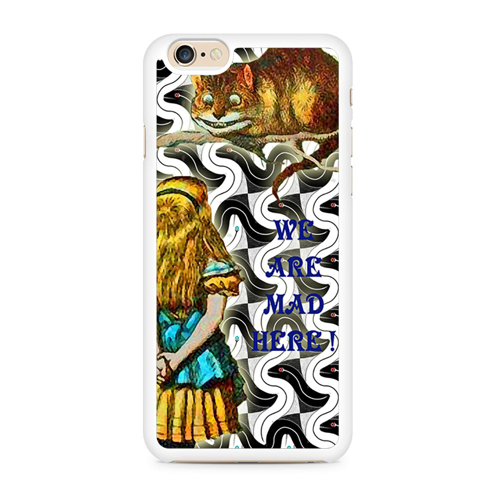 Alice And The Cheshire iPhone 6/6s case