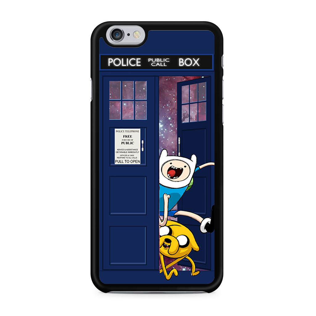 Adventure Time Jake Finn In Doctor Who Tardis iPhone 6/6s case