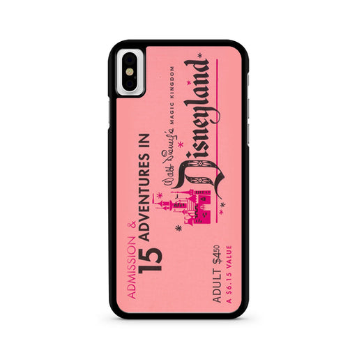 Disneyland Ticket iPhone X case