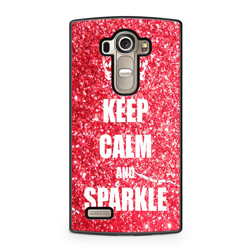 Keep Calm And Sparkle LG G4 case