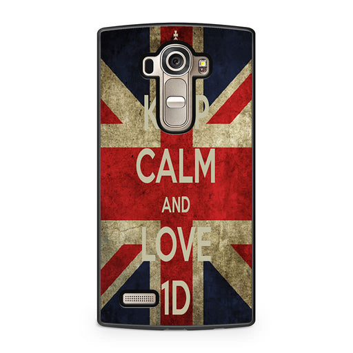 Keep Calm and Love 1D LG G4 case