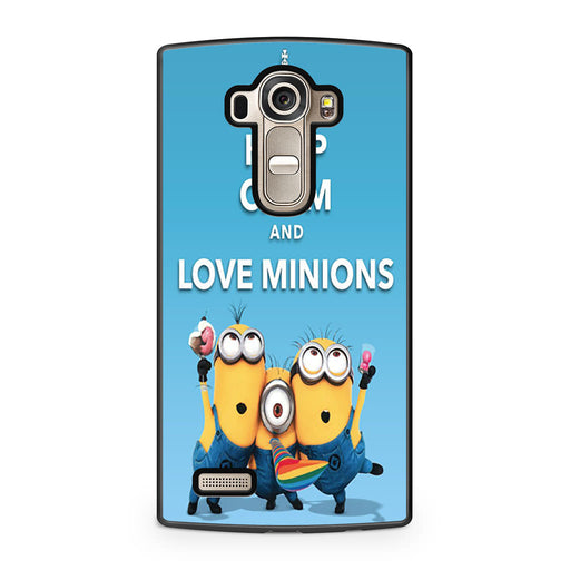 Keep Calm and Love Minions LG G4 case