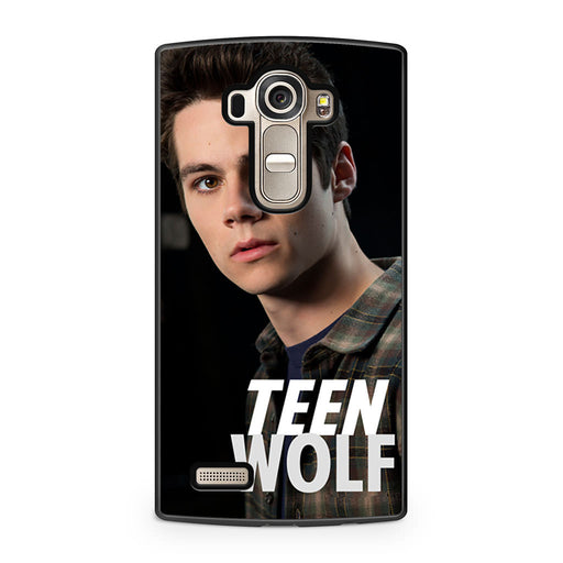 Teen Wolf Dylan O'Brien Stiles LG G4 case