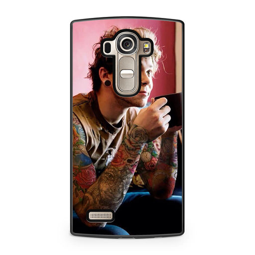 5SOS Ashton Irwin Tattoos LG G4 case