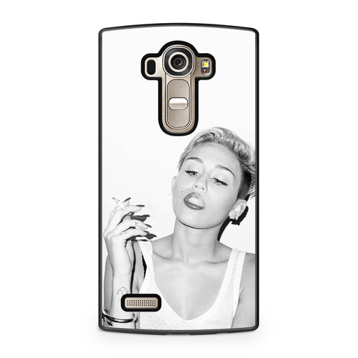Miley Cyrus Smoking LG G4 case