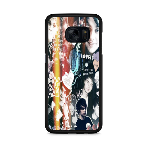 Michael Clifford Collage Samsung Galaxy S7 Edge case