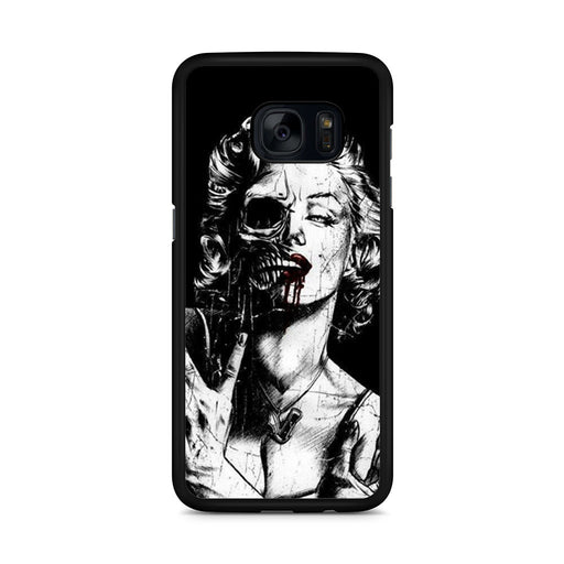 Marilyn Monroe Skull Samsung Galaxy S7 Edge case