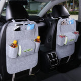 Felt Back Seat Storage Organizer - Take Off Travel Accessories