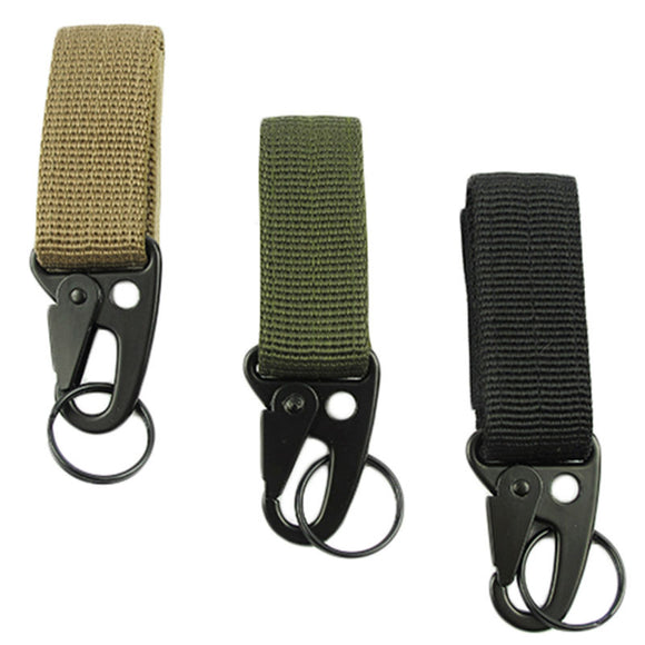 Tactical Spring Engaging Carabiner - Take Off Travel Accessories