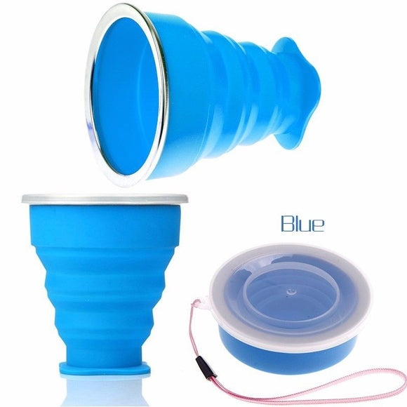 Kecttio Portable Collapsable Travel Cups - Take Off Travel Accessories