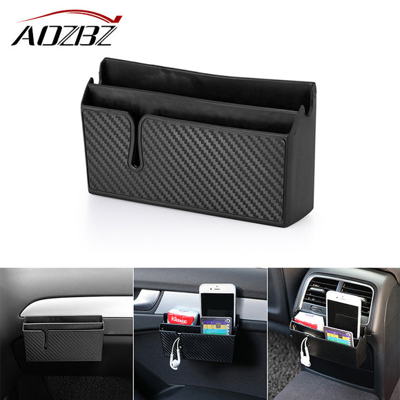 Aozbz Car Armrest Pocket Organizer - Take Off Travel Accessories