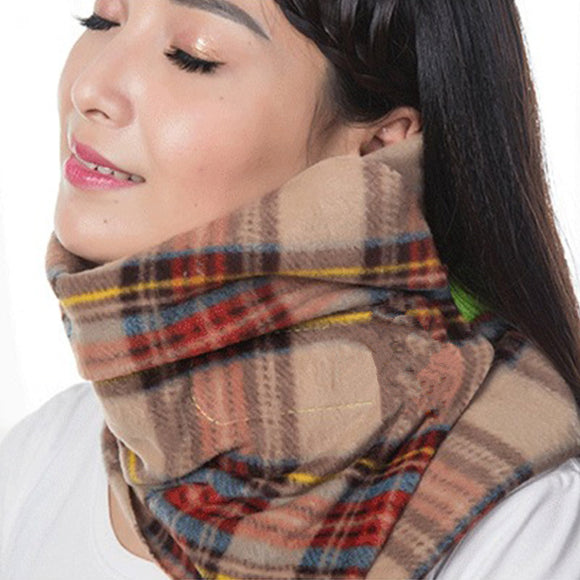 Travel Cotton Neck Wrap Pillow - Take Off Travel Accessories