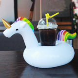 Rainbow Unicorn Floating Cup Holder - Take Off Travel Accessories