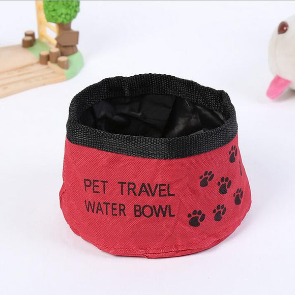 Port-A-Bowl Collapsible Travel Dog Food and Water Bowl - Take Off Travel Accessories