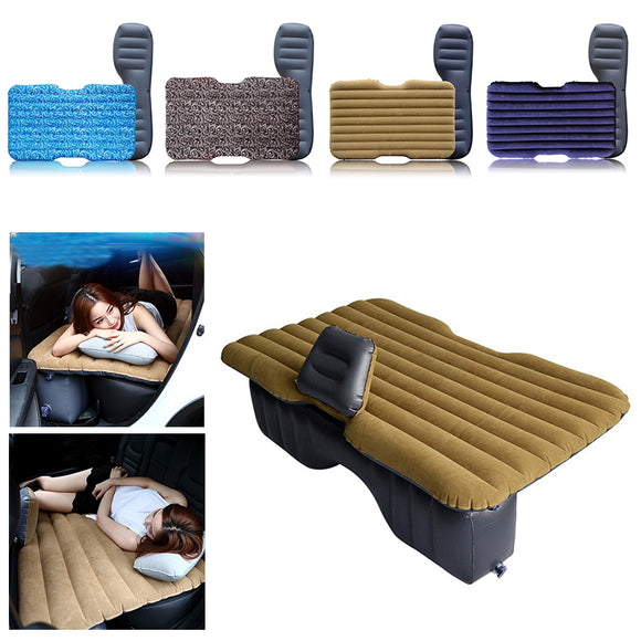 Inflatable Car Seat Mattress Set - Take Off Travel Accessories