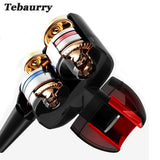 Bass Boosted Earbuds by Tebaurry