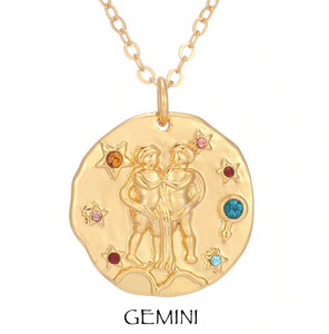 necklace with zodiac signs zodiac sign necklaces