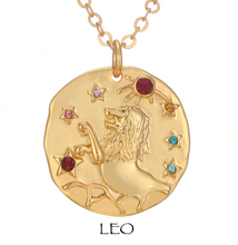 necklace with zodiac signs zodiac sign necklaces leo