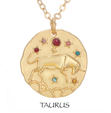 necklace with zodiac signs zodiac sign necklaces taurus