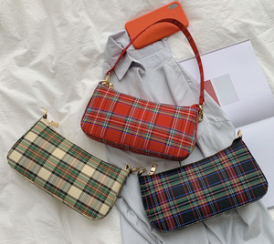 CHER | Baguette Bag - Tartan LIMITED EDITION