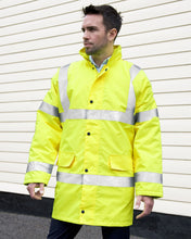 Long High Viz Jacket