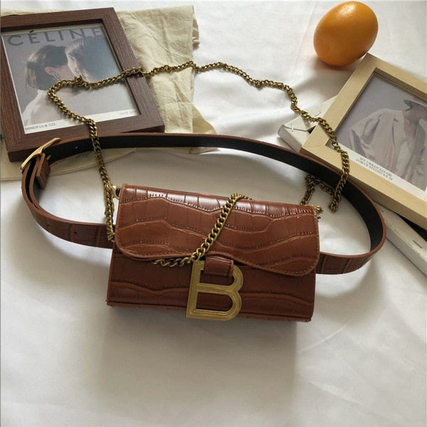 Belt Bag in Faux Leather