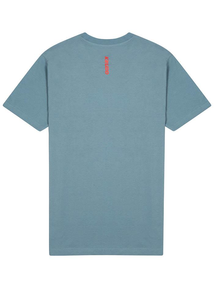 GARMS+SOUNDS TEE [BLUE] - Krudd LTD