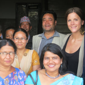 Working with Nepal Leprosy Trust Leather Handicraft Workshop