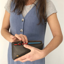 IMANDA Handcrafted Leather Long Wallet