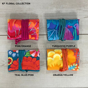 GUPTI Kaffe Fassett Floral Travel Jewellery Roll