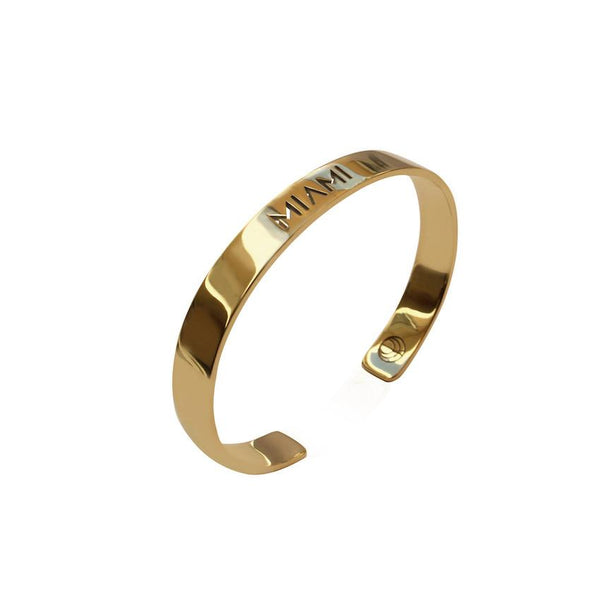 Bangle gold Miami