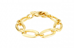 Awesome Gold Unode50 Gold Plated Bracelet PUL0949ORO0000