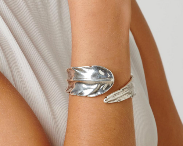 Feather Unode50 Silver Plated Bracelet PUL1782MTL0000