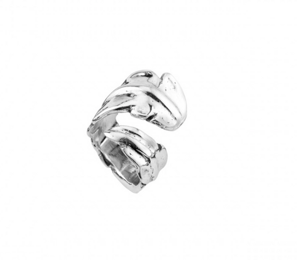 Feather Unode50 Silver Plated Ring ANI0580MTL000