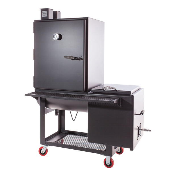 "30"" Offset Vertical Smoker"