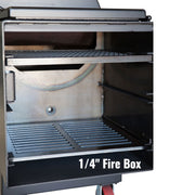 "Lone Star Grillz 1/4"" Fire Box"
