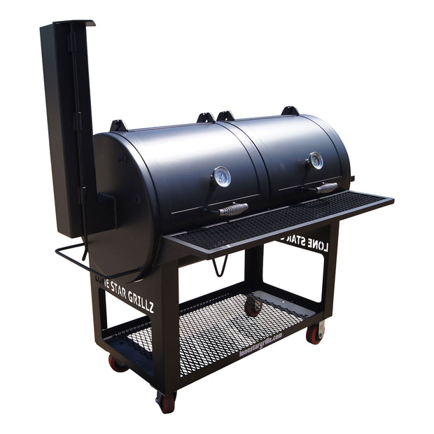 "24"" x 48"" Charcoal Pipe Grill"