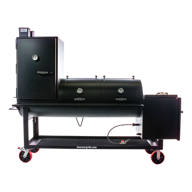 "24"" x 48"" Offset Smoker with Vertical"