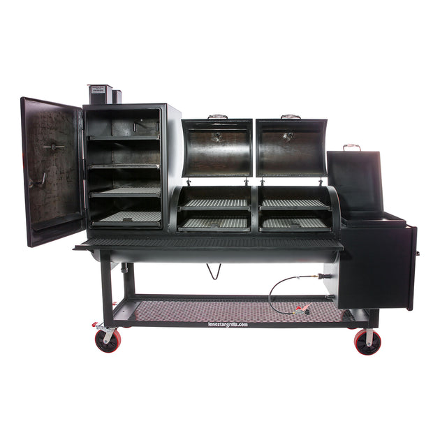 24 Quot X 48 Quot Offset Smoker With Vertical Lone Star Grillz