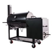 "Lone Star 24"" x 36"" Offset Smoker"