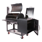 "Lone Star Grillz 24"" x 36"" Offset Smoker"