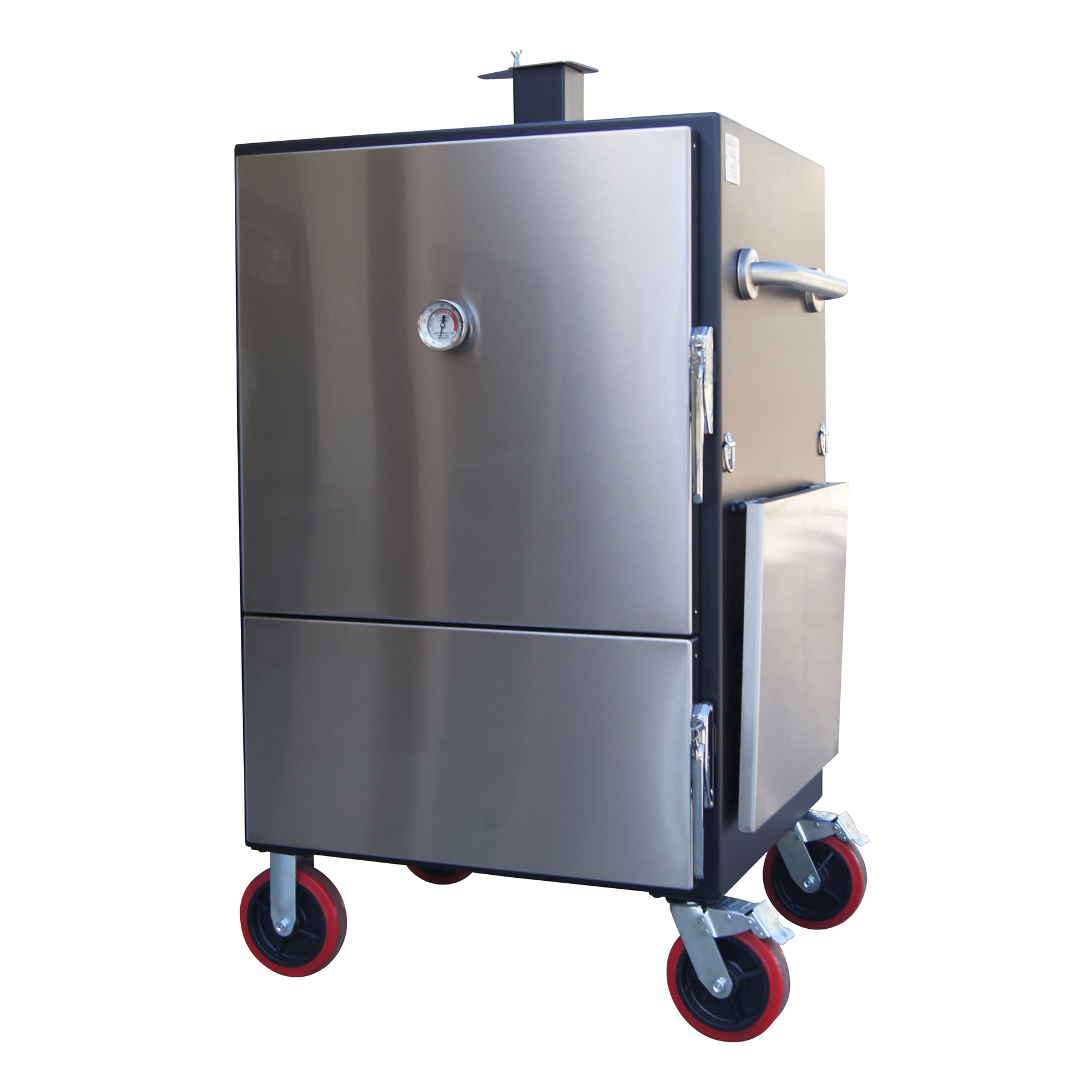 Large Insulated Cabinet Smoker – Lone Star Grillz