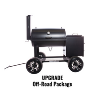 "24"" x 24"" Offset Vertical Smoker"